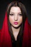 Porträt der jungen Frau Stockbilder