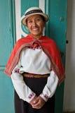 Porträt der schönen einheimischen Frau von Lizenzfreie Stockfotografie