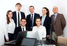Porträt des erfolgreichen Geschäftsteams Stockfoto