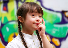 Porträt des Mädchens Stockfotos