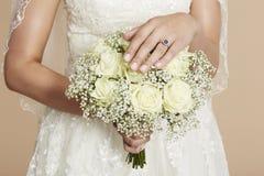 Porträt einer jungen Braut Stockfoto
