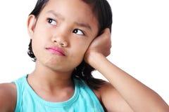 Trauriges Mädchen Lizenzfreie Stockbilder