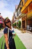 Porträt-thailändisches Mädchen Stockfotos
