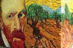 Porträt von Vincent van Gogh Stockfotografie