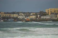 Portrush港口1 库存照片