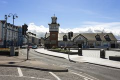 Portrush,北爱尔兰 库存照片