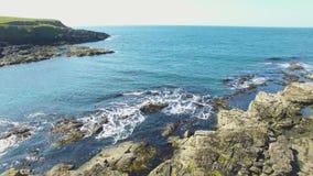 Portrush Атлантический океан антрим Северная Ирландия акции видеоматериалы