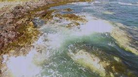 Portrush Атлантический океан антрим Северная Ирландия видеоматериал