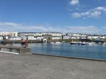 Portrush-Hafen Nordirland stockbild
