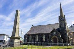 Portrush, Northern Ireland. The Portrush Methodist Church in the corner of Causeway Street and Eglinton Street Royalty Free Stock Image