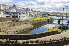 Portrush, Northern Ireland. Views of the harbor in Portrush, Northern Ireland Royalty Free Stock Photo
