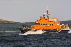Portrushreddingsboot op vraag Royalty-vrije Stock Foto