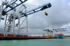 Ports of Auckland - New Zealand Stock Photography
