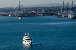 Ports of Auckland Royalty Free Stock Photography