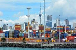 Ports d'Aucland - le Nouvelle-Zélande Image libre de droits