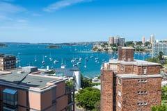 Ports de Sydney image libre de droits