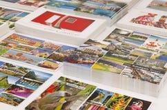 Ports de vitesse normale des Caraïbe et d'Amazone des cartes postales d'appel Image stock