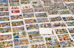 Ports de vitesse normale des cartes postales d'appel avec le blanc arrière Photo libre de droits