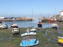 Ports intérieurs et externes, Brixham, Devon images libres de droits