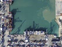 Ports maritimes de paysage le temps de jour photographie stock libre de droits