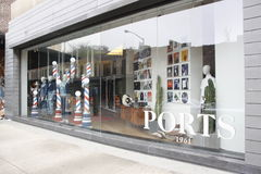 Ports 1961, new york city store Royalty Free Stock Images