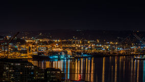 The Ports in Seattle Stock Photography