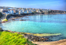 Portscatho Cornwall on the Roseland Peninsula Cornish south coast of England UK Stock Photography
