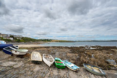 Portscatho Harbour Royalty Free Stock Image