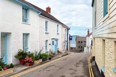 Portscatho Village Royalty Free Stock Images
