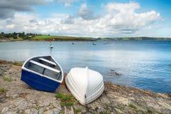 Portscatho w Cornwall Obraz Royalty Free