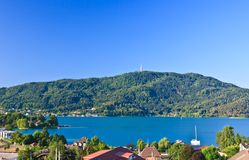 Portschach am Worthersee. Austria Royalty Free Stock Images
