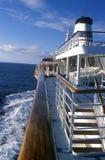 Portsida och pilbåge av kryssningskeppet Marco Polo, Antarktis Royaltyfri Fotografi
