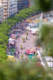 Portside van Monaco Stock Foto's
