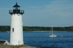 маяк portsmouth гавани стоковое фото