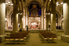 Portsmouth Cathedral - Nave Royalty Free Stock Images