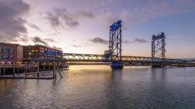 Portsmouth, de Herdenkingsbrug van New Hampshire stock videobeelden