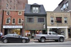 Portsmouth, el 30 de junio: Edificios históricos de Portsmouth céntrica en New Hampshire de los E.E.U.U. Imágenes de archivo libres de regalías