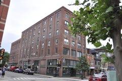 Portsmouth, el 30 de junio: Edificios históricos de Portsmouth céntrica en New Hampshire de los E.E.U.U. Imagenes de archivo