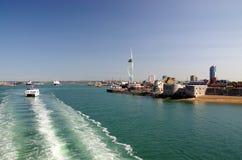 Portsmouth (England) Fotografering för Bildbyråer