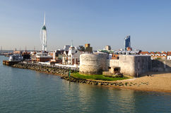 Portsmouth (England). A photo of Portsmouth in England Stock Photos