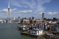 Portsmouth - Förenade kungariket Arkivbild