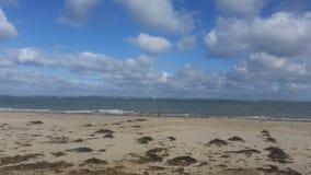 Portsmouth från ön av wighten Arkivfoton
