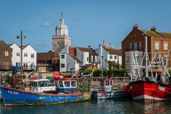 Portsmouth-Hafen England Stockbilder
