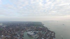Portsmouth hamn Arkivfoto