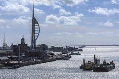 Portsmouth - Hampshire - Förenade kungariket arkivfoton