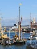 PORTSMOUTH, HAMPSHIRE/UK - NOVEMBER 2 : Thames Barge at Portsmou Stock Photos