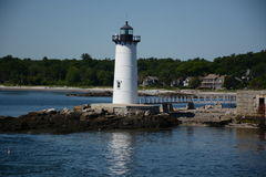 Portsmouth Harbor Light royalty free stock photos