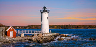 Portsmouth Harbor Lighthouse Stock Photos