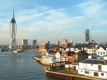 Portsmouth harbour royalty free stock image