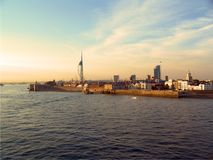 Portsmouth harbour Royalty Free Stock Photos
